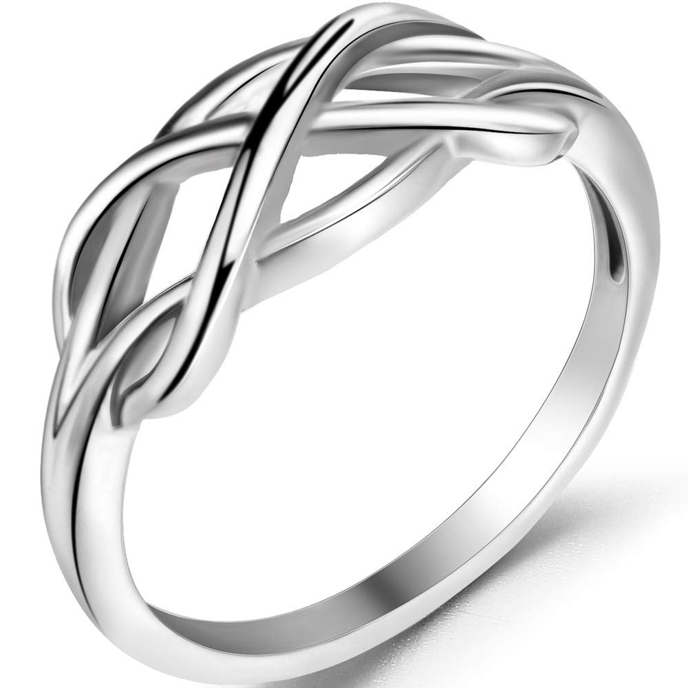 Jude Jewelers Stainless Steel Heart Shaped Wedding Engagement Promise Statement Anniversary Ring