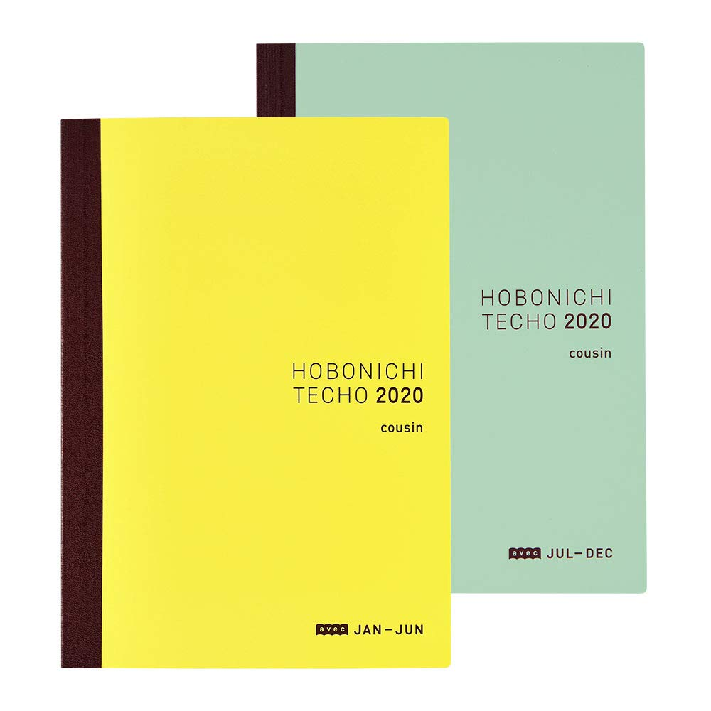 Hobonichi Techo Cousin Avec Book (Japanese/A5/Jan 2020 Start/2-Book Set) by Hobonichi Techo