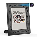 Spy Camera Hidden WiFi Photo Frame 1080P Hidden Security Camera Night Vision and Motion Detect Wireless IP Nanny Camera with One Year Battery Standby Time and Instant Alerts to Smartphone (Video Only)