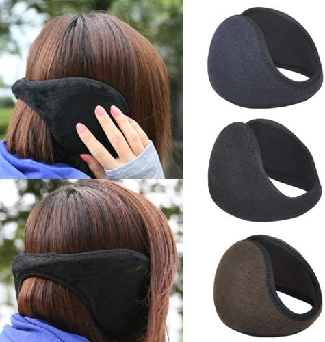 Veroda/™ Soft Plush Covered Pads Wrap Ski Ear Muffs Warmers