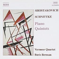 Shostakovich Schnittke: Piano Quintets