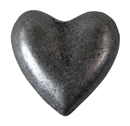Knob Hill Heart Shaped Knob - Pewter - 10 Knobs