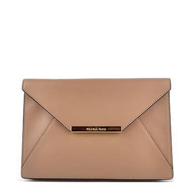 MICHAEL Michael Kors Lana Clutch one size Dark Khaki: Amazon