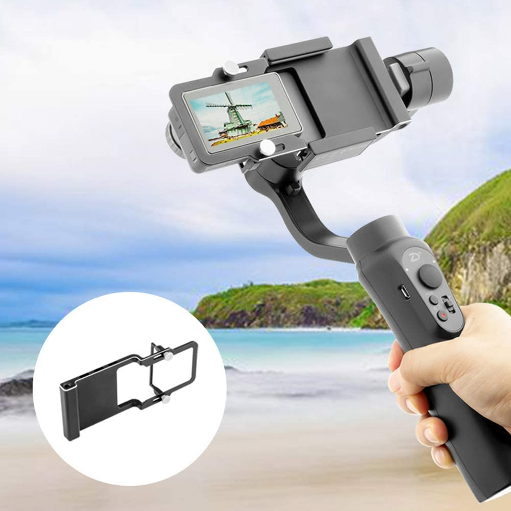hudiemm0B Camera Stabilizer Handheld Underwater Camera Adapter Gimbal Stabilizer Tripod/ for DJI OSMO Action