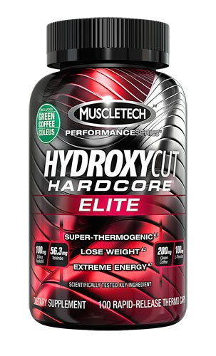 Hydroxycut Hardcore? Elite -- 100 Rapid Release Thermo Caps (Pack of 3)