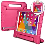 Apple iPad Air case for kids [SHOCK PROOF KIDS IPAD CASE] COOPER DYNAMO Kidproof Child iPad Air 1 Cover for Girls, Boys, Toddlers   Kid Friendly Handle & Stand, Light Weight, Screen Protector (Pink)
