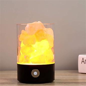 Luz De Noche LED, Lámpara De Sal Inteligente Para El Hogar ...