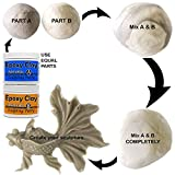 2 Part Epoxy Clay - 1lb kit | Natural | Self