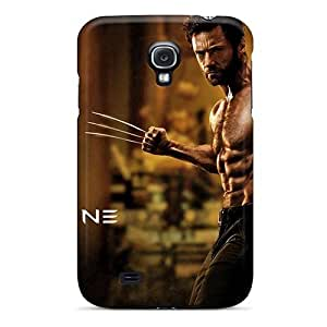 Bernardrmop Premium Protective Hard Case For Galaxy S4- Nice Design - The Wolverine 2013 Movie