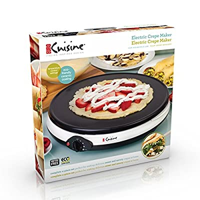 Euro Cuisine Eco Friendly Crepe Maker