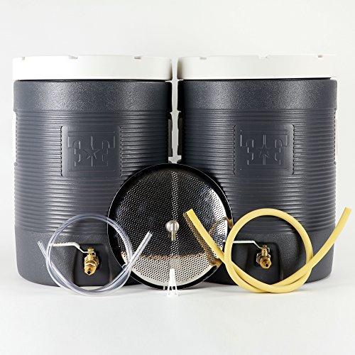 Fermenter's Favorites Essential All Grain Brewing Starter Kit - 10 Gallon Mash Tun and Hot Liquor Tank (Hot Liquor Tank)