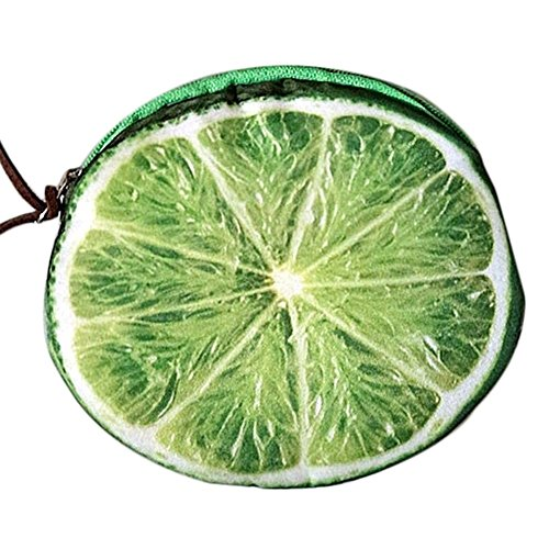 de à Monnaie carte Impression LAAT Clé citron Créatif fruit Porte Motif Main Pour Sac xqYxpwtz