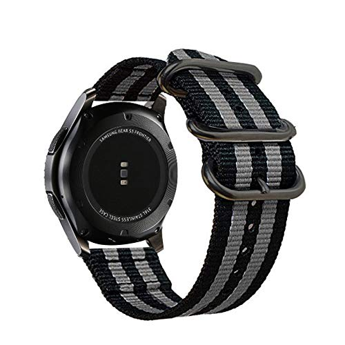 Jewh Colorful Nylon Strap for Samsung Gear S3 - S2 Sport Frontier - Classic Watch Band