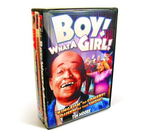 Art Butterfly Trio (Black Cast Comedy & Music (Boy! What A Girl!  / Boarding House Blues / Killer Diller) (3-DVD))