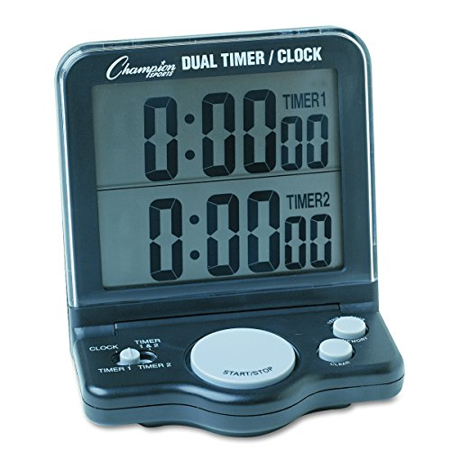 Jumbo Sport Watch - Champion Sports Desk Clock Timer (DC100)