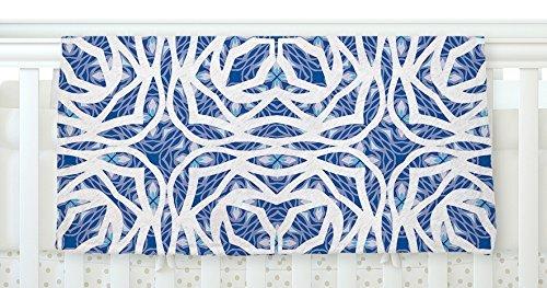 KESS InHouse Miranda Mol Blue Explosion Fleece Baby Blanket 40 x 30 [並行輸入品]   B077Z5YHKD