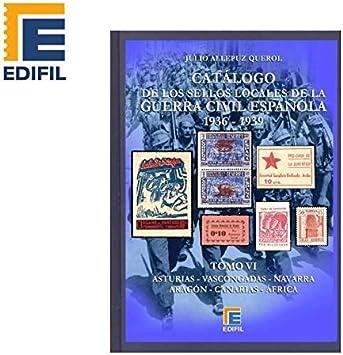 EDIFIL Catálogo Sellos Locales de Guerra Civil española (1936-1939 ...