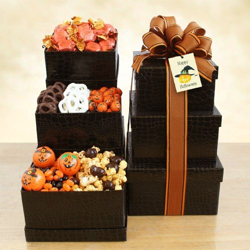 A Tower of Halloween Fun (Godiva Halloween)