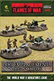 British - Log Emplacements/dug-in Markers - Flames Of War