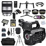 DJI Movie Maker Kit - DJI Ronin 3-Axis Stabilized Video Camera Gimbal (Black) + Sony PXW-FS7 4K XDCAM Camera with Super 35 CMOS Sensor, Body-Only (International Version No Warranty) + Sony - E-Mount 18-200mm f/3.5-6.3 Zoom Lens