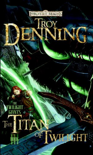 book cover of The Titan of Twilight