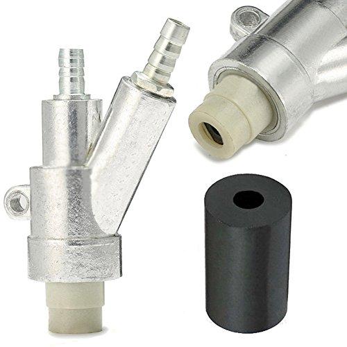 Jewboer Air Sandblaster Sand blasting Gun for rust dust remove sandblaster air tool with Boron Carbide Nozzle (8MM) by Jewboer