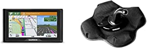 Garmin Drive 51 USA LM GPS Navigator System with Lifetime Maps, Spoken Turn-by-Turn Directions, Direct Access, Driver Alerts, TripAdvisor and Foursquare Data & Portable Friction Mount, 5