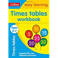 Times Tables Workbook Ages 5-7: New Edition (Collins Easy Learning KS1)