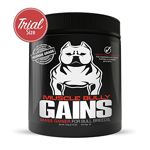 Muscle Bully Gains – Mass Weight Gainer for Bully Breeds (45 Serving) Review