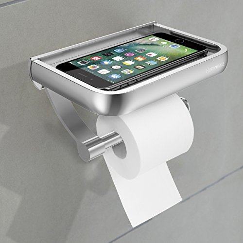 Toilet Paper Holder Wall Mounted Bathroom Tissue Holder Anti