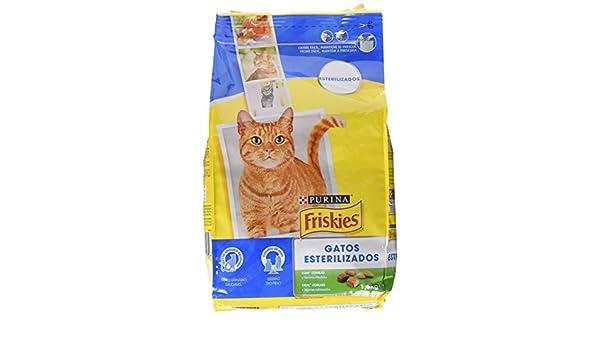 Purina Friskies Esterilizados Gato con COnejo y Verduras 1,5 ...