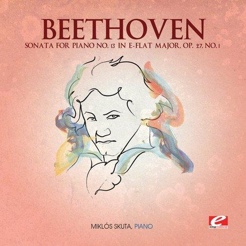Beethoven: Sonata for Piano No. 13 in E-Flat Major, Op. 27, No. 1 -  Ludwig van Beethoven, Audio CD