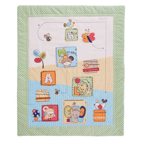 Living Textiles Baby Quilt – Hopscotch, Baby & Kids Zone