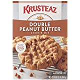 Krusteaz Bakery Style Cookie Mix, Double Peanut Butter, 16-Ounce Boxes (Pack of 12)