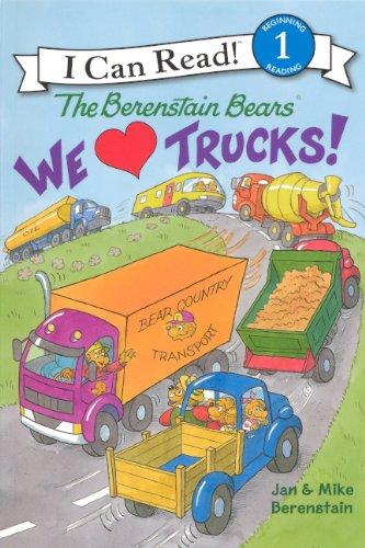 We Love Trucks! (Turtleback School & Library Binding Edition) (I Can Read! Berenstain Bears - Level 1)