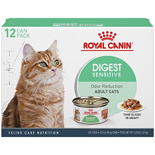 Royal Canin Feline Care Nutrition Digest Sensitive Canned Cat Food, 3 oz (Pack of 12)