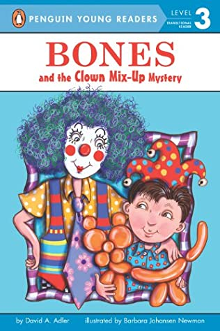 book cover of Bones and the Clown Mix-Up Mystery