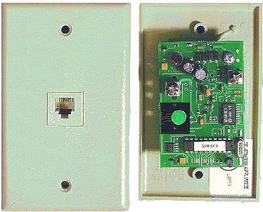 T-lock Outgoing Call Blocker w/ Allow Memory and Cut-off Timer - Wallplate Style