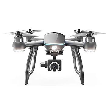 LINGYUN Drone de Control Remoto GPS con Motor sin escobillas, WiFi ...
