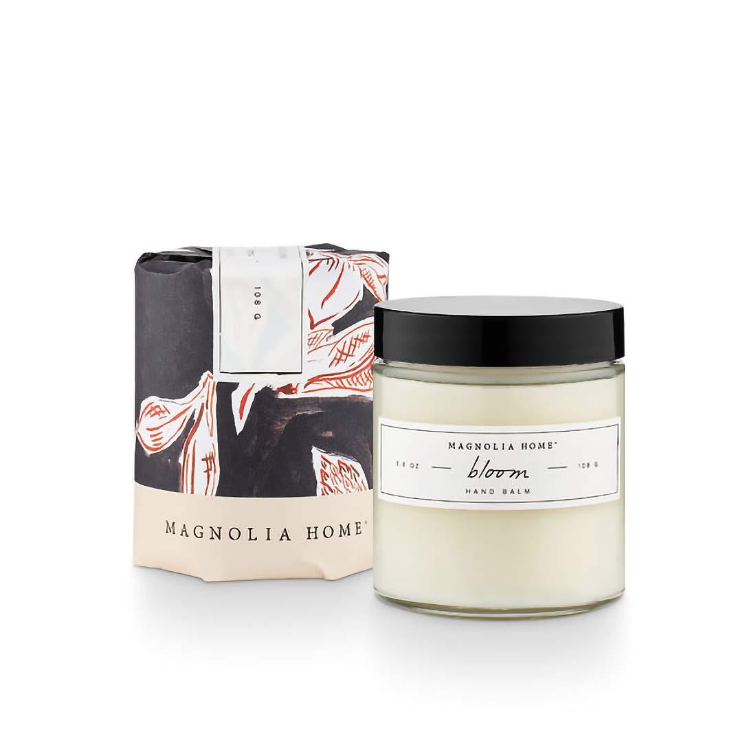 Magnolia Home Fragrance Bloom Scent 3.9 Ounce Moisturizing Cream Hand Balm Jar