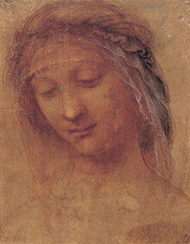 Leonardo da Vinci - The Head of the Madonna - Royal Collection Trust UK - Windsor Castle 30