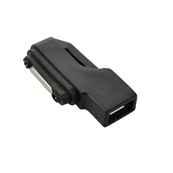 cfe32c4315a Image Unavailable. Image not available for. Color: Seadream Micro USB to Magnetic  Charger Connector Adapter for Sony Xperia ...