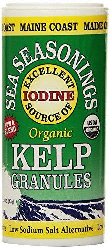 Maine Coast Sea Vegetables Organic Kelp Granules Salt Alternative (2 Pack)