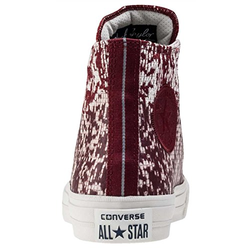 Hi Unisex Casual Converse Shoe Star All Block Buff II Red Taylor Chuck wT1xqUxOg