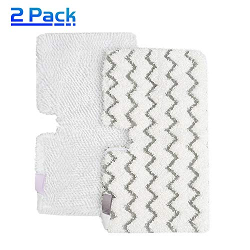 X Home Steam Mop Pads (Two Different Materials) Replacement for Shark S3501 S3601 S3550 S3801 S3901 S2902 S4701 Professional Steam Pocket Mop Refills Accessories, Lift-Away Hard Floor Cleaner Cloths
