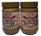 Trader Joes Crunchy No Salt Almond Butter, 16 Ounce (Pack of 2)
