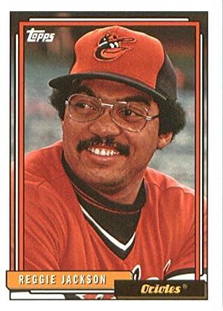 2017 Topps Archives 255 Reggie Jackson Baltimore Orioles Baseball Card