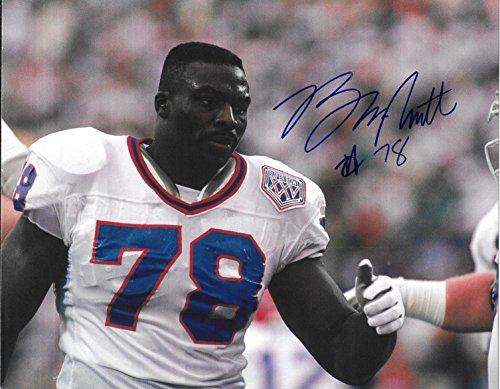 Bills Signed Smith Bruce (Bruce Smith Buffalo Bills Autographed Signed 8 x 10 Photo - COA - NM/MT - MT Condition!)