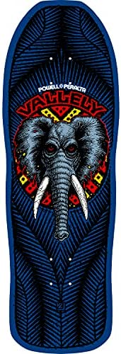 Powell Peralta Skateboard Deck Mike V Elephant Navy Re-Issue