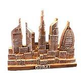 Burj Al Arab Dubai Fridge Magnet World City Resin 3d Strong Souvenir Tourist Gift Chinese Magnet Hand Made Craft Creative Home and Kitchen Decoration Magnetic Sticker (Dubai 3)
